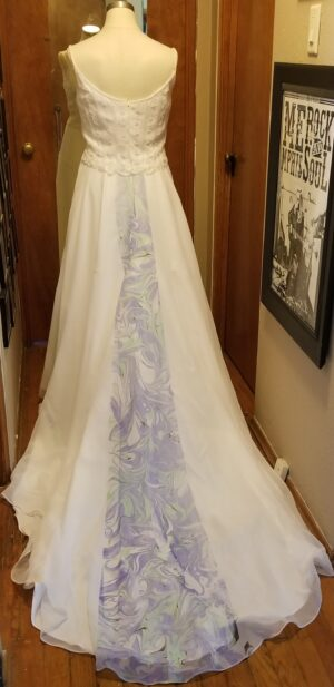 Painted Wedding Gowns