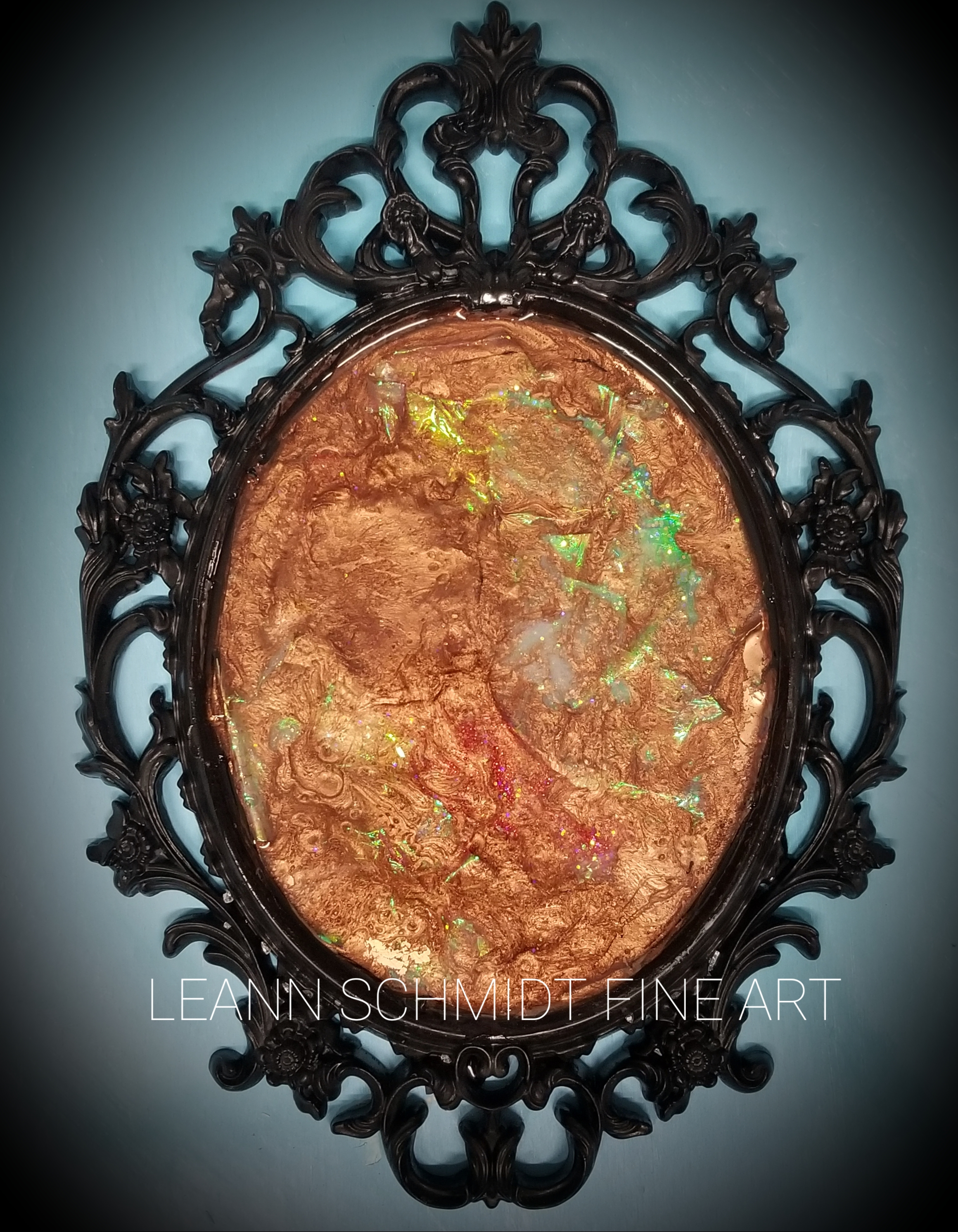 Fire Opal Mirror