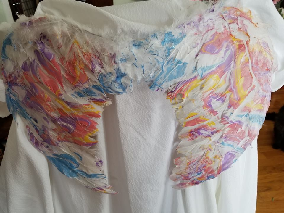Colors of an Angel – Angel Wings