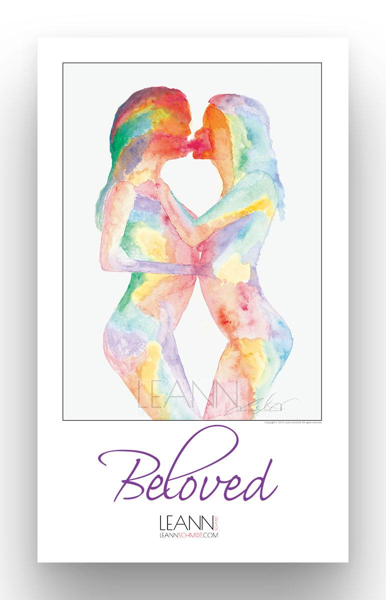 Beloved – Lesbian Kiss (01)