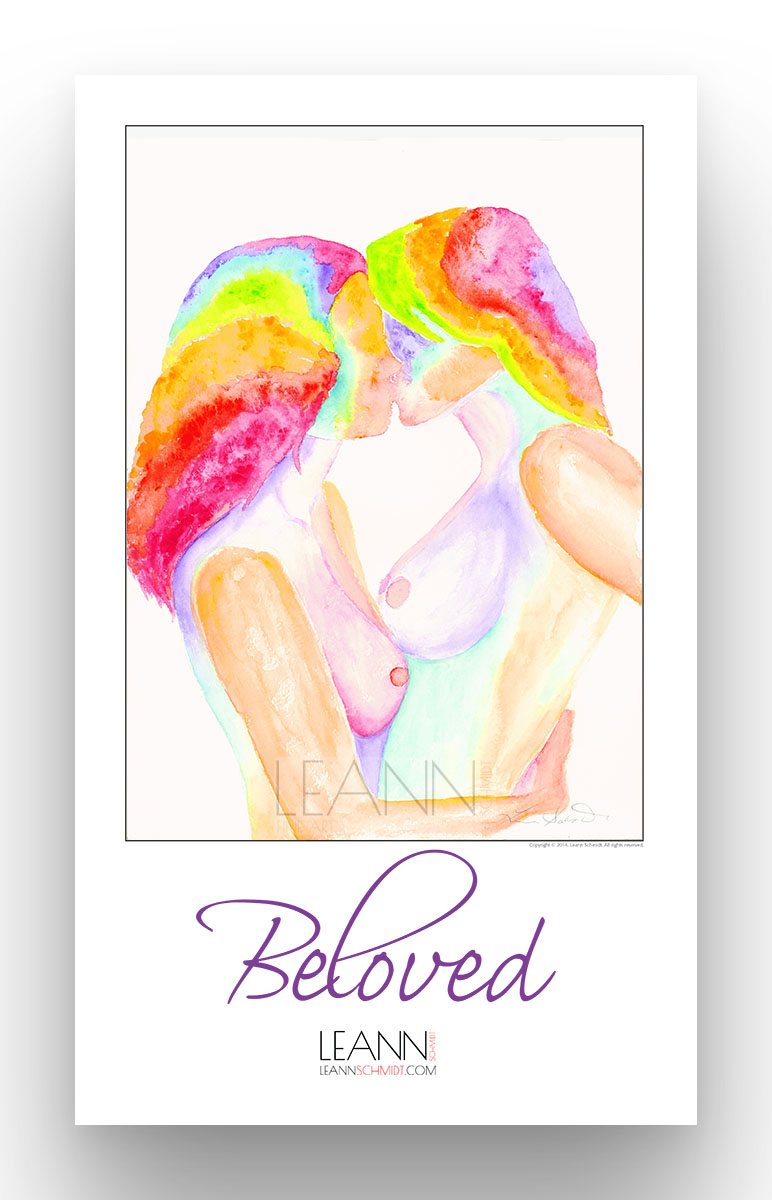 Beloved – Lesbian Kiss (10)