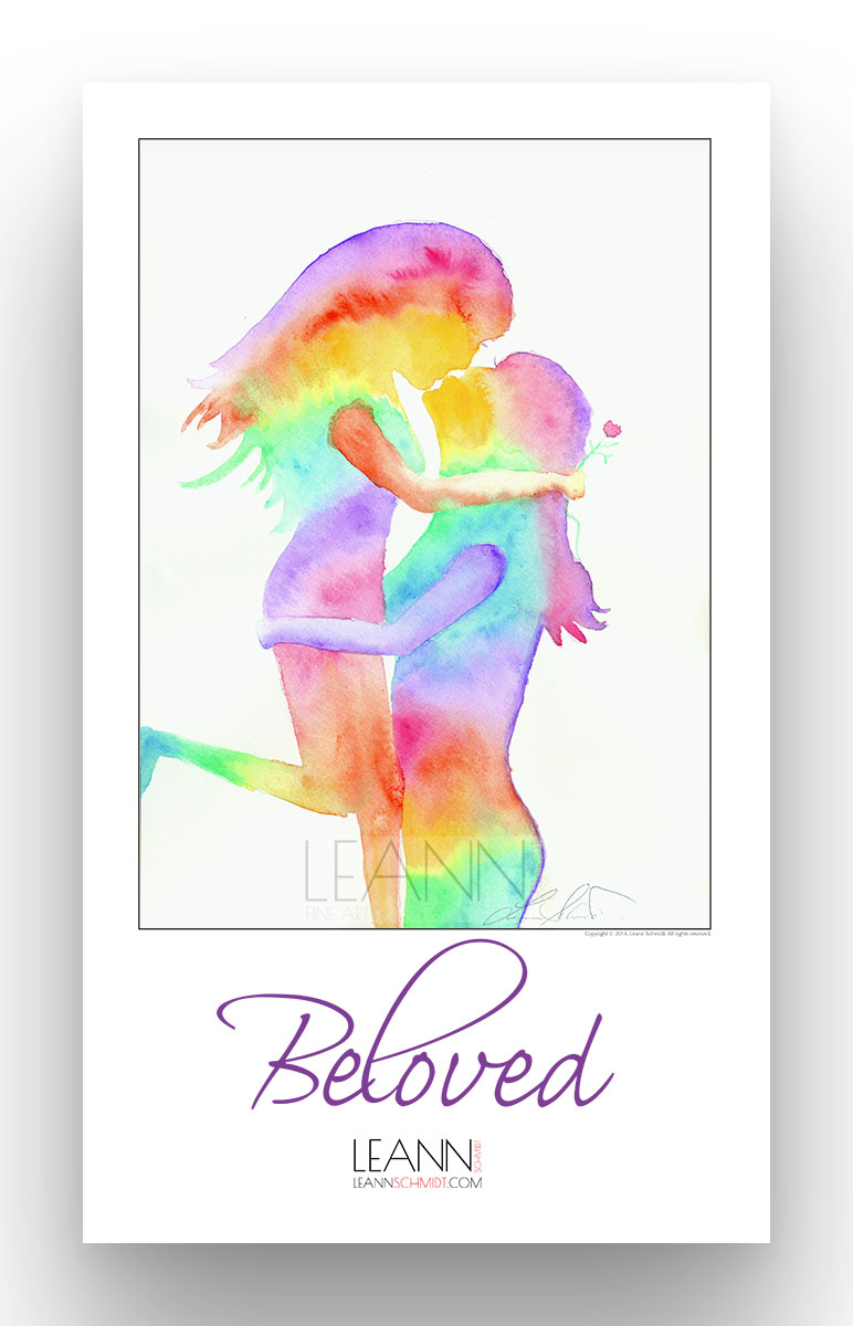 Beloved – Lesbian Kiss (02)