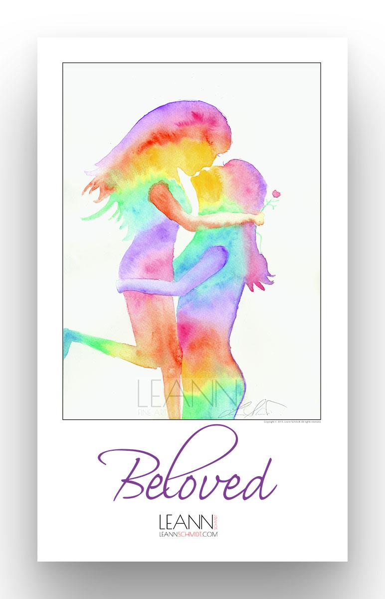 Beloved – Lesbian Kiss (02)