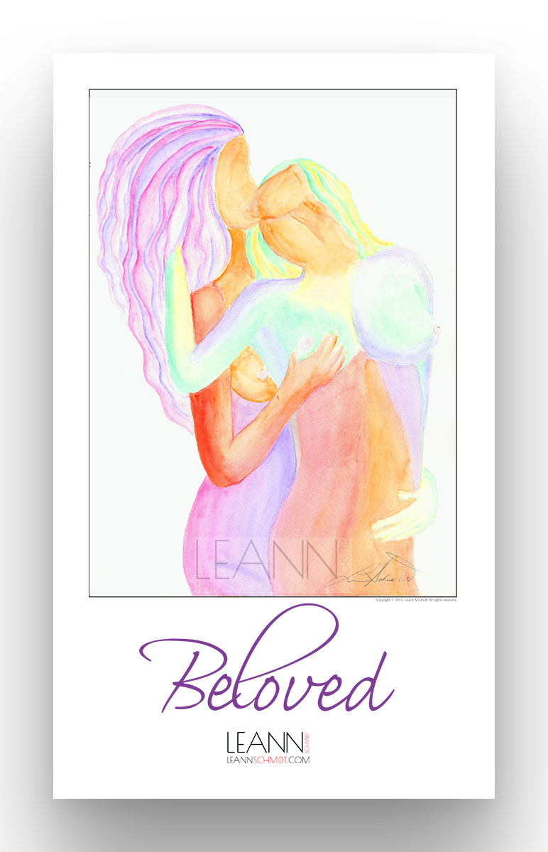 Beloved – Lesbian Kiss (06)