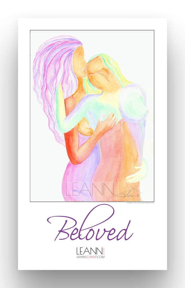 Beloved – Lesbian Kiss (06)