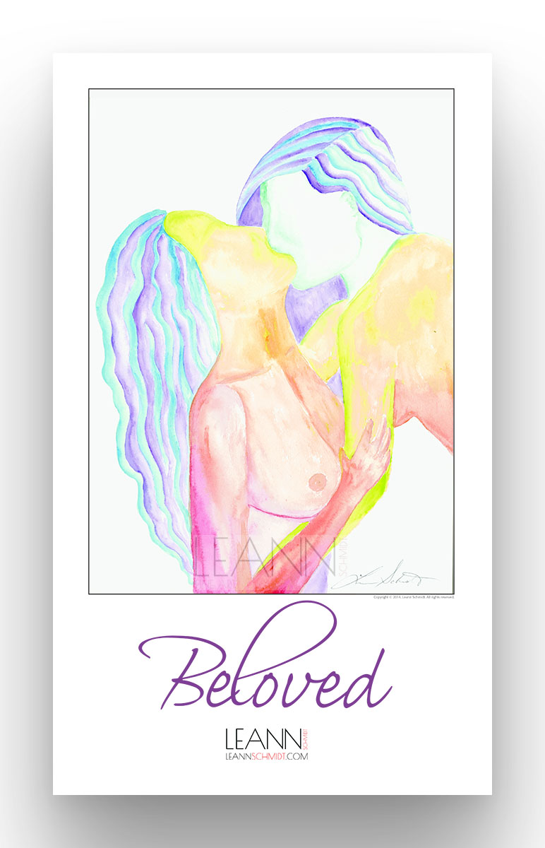 Beloved – Lesbian Kiss (09)