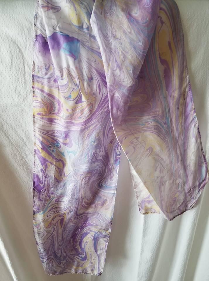 Ebru Silk Scarf – 8 x 54″