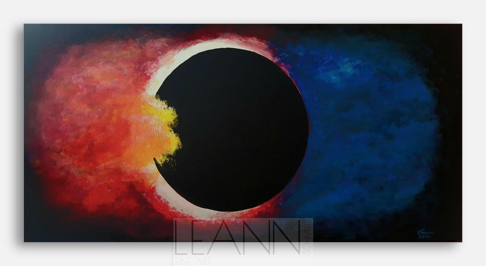 Eclipse, Sky on Fire
