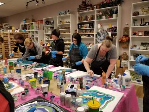 Art Party Workshop – Geodes January 12, 2019