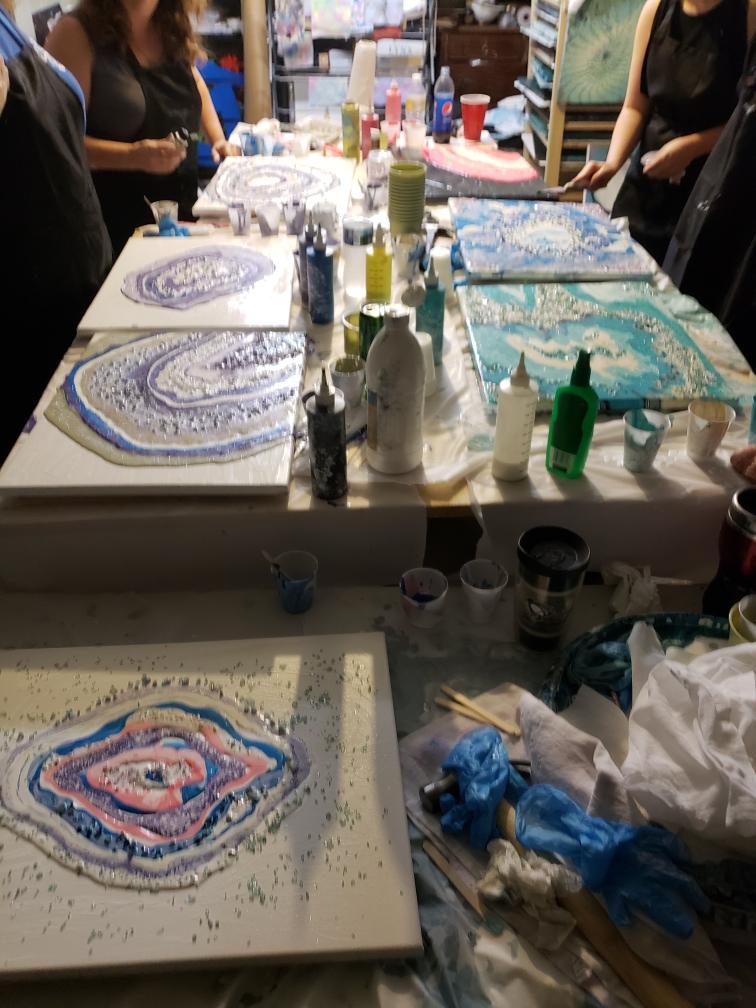 Art Party Workshop – Geodes October 27, 2018
