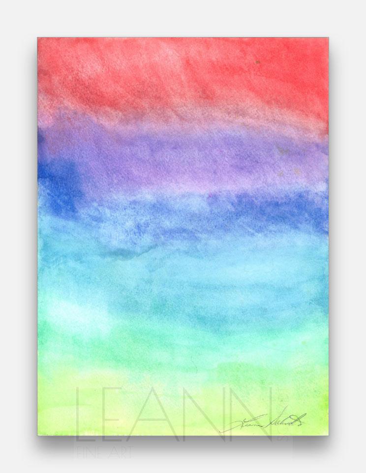 Rainbow Gouache